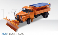 Conrad MAN HAK 15.200 Snow Plow / Spreader